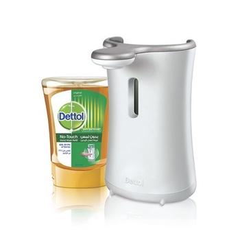 Dettol No Touch Hand Wash Soap Machine Original 250ml