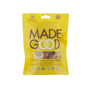 Made Good Choco Banana Muesli Minis 100G