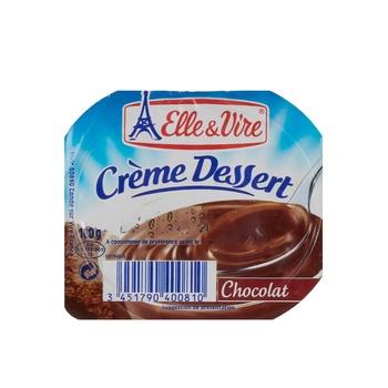 Elle & Vire Cream Dessert Choco  125g