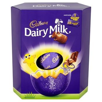 Cadbury Giant Dairy Milk Egg 515g