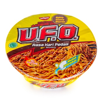 Nissin Ufo Fried Noodles Spicy Curry 100g