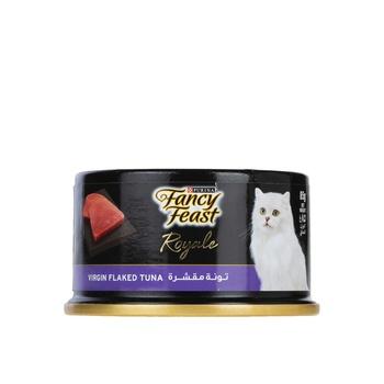 Purina Fancy Feast Royale Virgin Flaked Tuna 85g