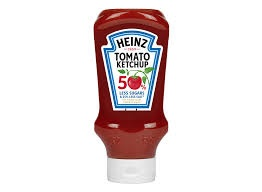 Heinz Reduced Salt & Sugar Tomato Ketchup 550