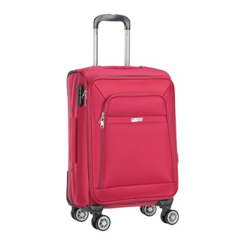 Voyager Trolley Bag  Red - 20 inch
