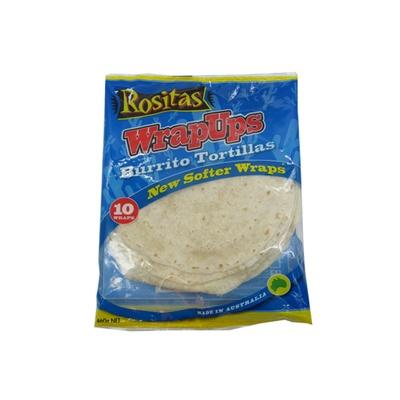 Rositas Wrapups: Burrito Tortillas 460g