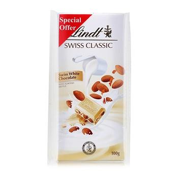 Lindt Whole Almond Nougat 2x100g
