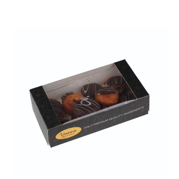 Vienna Bakery Assorted Boston Cream Donuts 10 Pieces