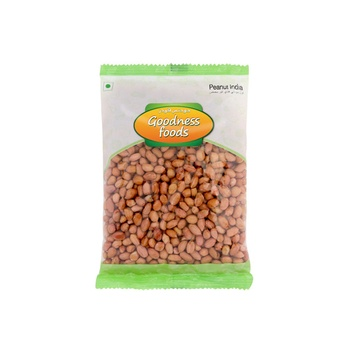 Goodness Foods Peanuts Raw India 250g