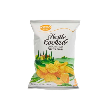 Kettle Cooked Potato Cheese & Chives 40g