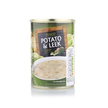 Tesco Potato & Leek Soup 400g