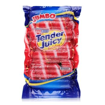 Purefoods Hotdog Jumbo P&Beef 500g