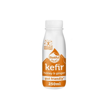 Biotiful Kefir Honey & Ginger 250ml