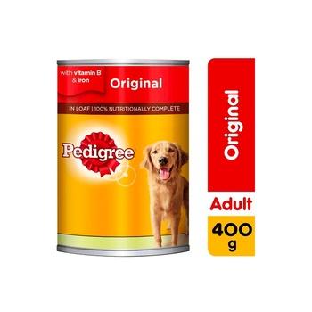 Pedigree Beef Loaf Wet Dog Food Can 400g