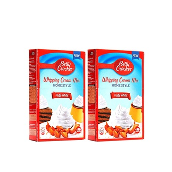 Betty Crocker Whip Cream White 2X140g