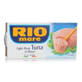 Rio Mare Light Meat Tuna In Water 2x160g