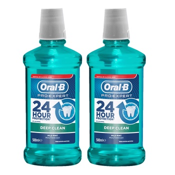 Oral B Pro Expert Mouthwash Deep Clean 250ml Pack of 2 @ 33% Off