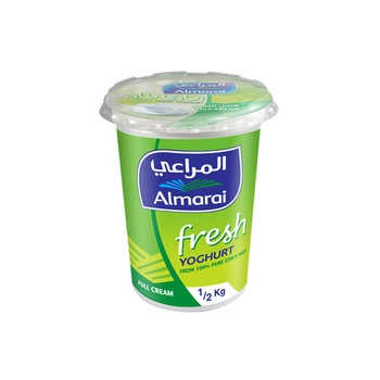 Almarai Yoghurt Full Fat Cream 500g