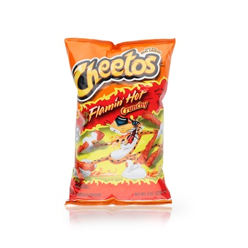 Cheetos Crunchy Flamin Hot 100g