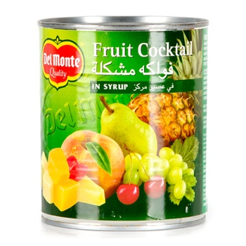 Del Monte Fruit Cocktail Cherry in Syrup 825g