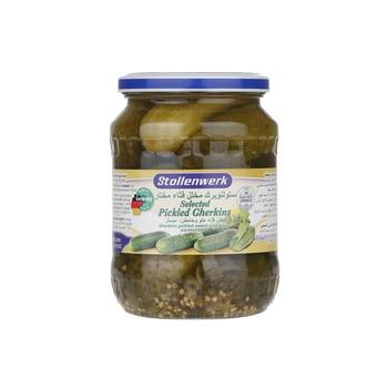Stollenwerk Selected Pickled Gherkins 670g