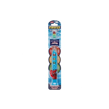 Firefly Spiderman Lightup Timer Toothbrush