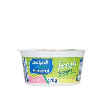 Almarai Fresh Yoghurt Fat Free Skimmed 170g