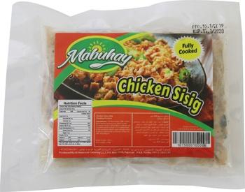 Mabuhay Chicken Sisig 250gms (Frozen)