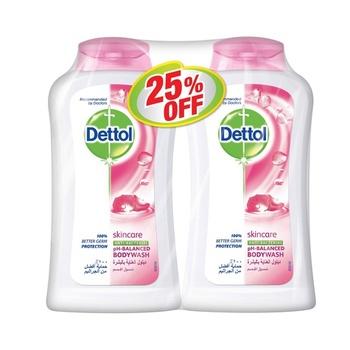 Dettol Skincare Bodywash 2 x 250 ml @ 25% Off