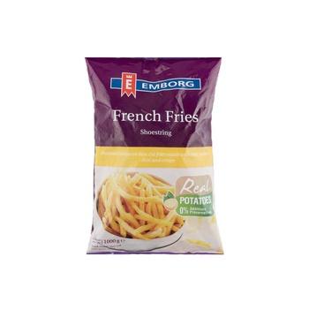 Emborg French Fries Shoestring 1kg