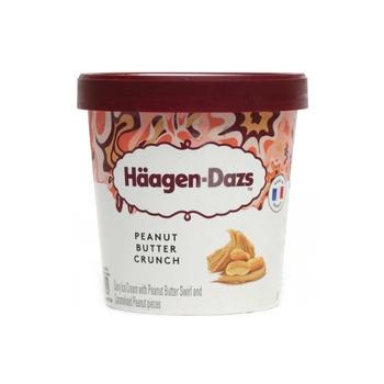 Haagen Dazs Peanut Butter Crunch Icecream 460ml