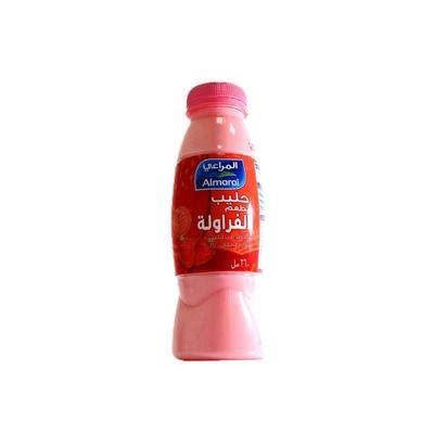 Almarai Fresh Milk Strawberry 360ml