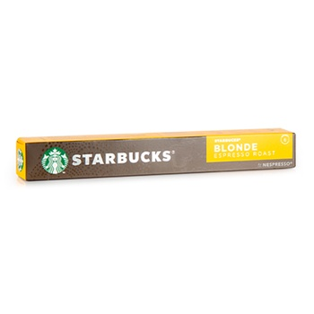 Starbucks Nespresso Coffee Capsule Blonde Espresso Roast 53g
