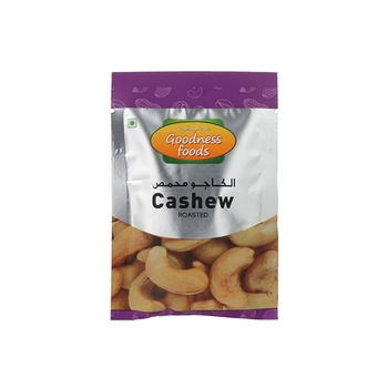 Goodness Foods Cashew Roasted Packet 20g