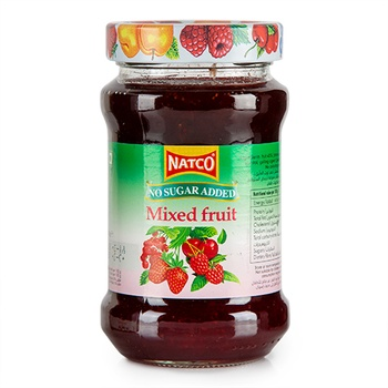 Natco Jam N/Sgr Added Mix/Frt 400g