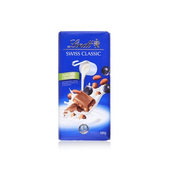 Lindt Chocolate Classic - Milk Raisin Hazelnut 100g