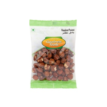 Goodness Foods Hazelnut Peeled 100g