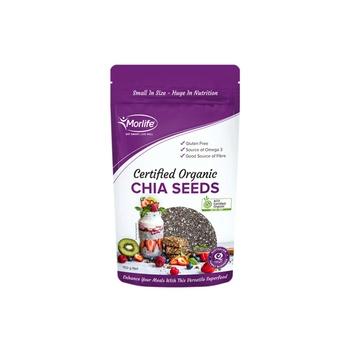 Morlife Certified Organic Chia Seeds 150g