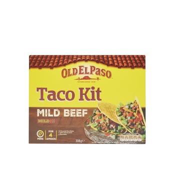 Old El Paso Taco Kit Mild Beef 308g