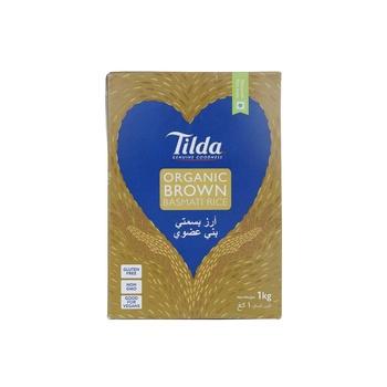Tilda Organic Brown Basmati 1kg