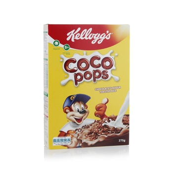 Kelloggs Chocolate Toasted Rice Cereal 375g
