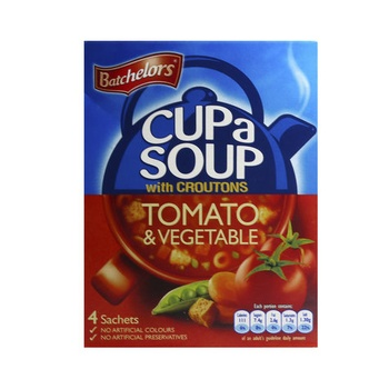 Batchelors Cup A Soup Tomato & Vegetable With Croutons 104g