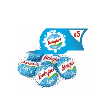 Mini Babybel Light Cheese Pack of 5 pieces 100g
