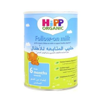 Hipp Organic Follow On Milk 6 Months Onwards 900g