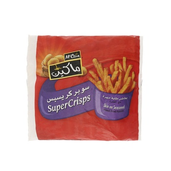 Mccain Super Crisp Seasoned Fries 1500g