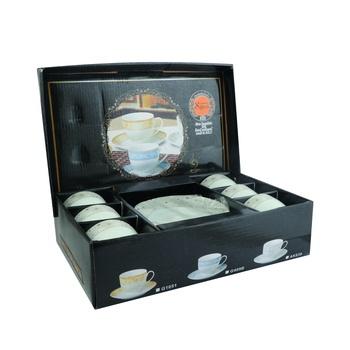 Tea Cup And Saucer Set 12 Pc