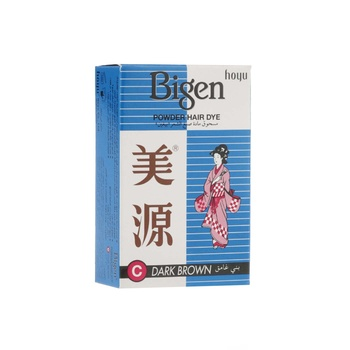 Bigen Powder Hair Dye Dark Brown 6g
