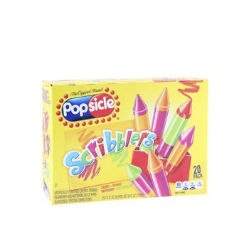 Popsicle Scribblers Natural Popsicles 24 Pack