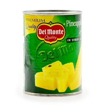 Del Monte Pine Chunks in Syrup 567g