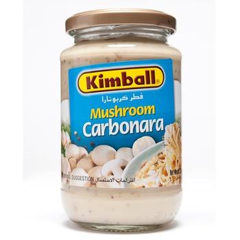 Kimball Pasta Sauce Mushroom Carbonara 350g