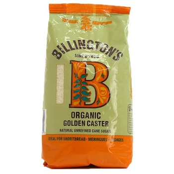 Billingtons Organic Golden Caster Sugar 500g